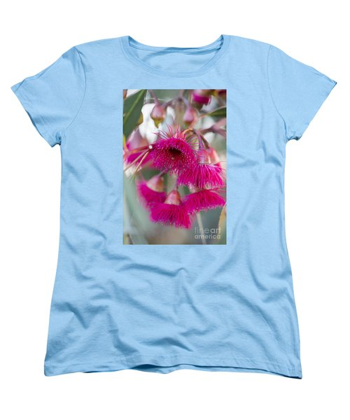 Women's T-Shirt (Standard Cut) featuring the photograph Hot Pink by Linda Lees