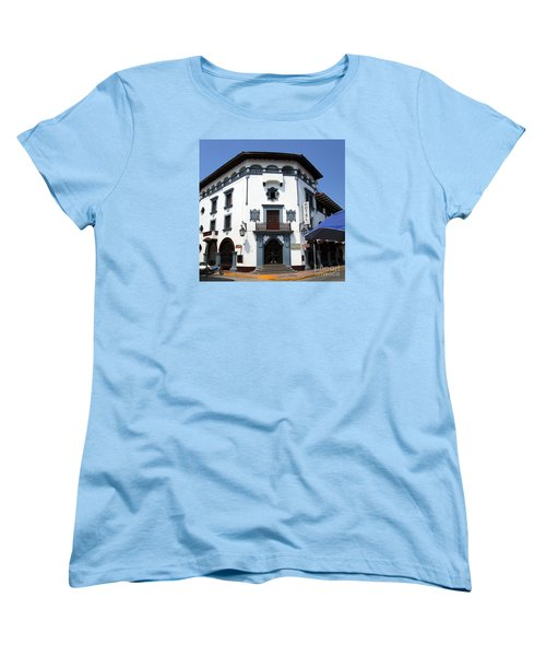 Hotel Colonial Women's T-Shirt (Standard Cut) by Randall Weidner