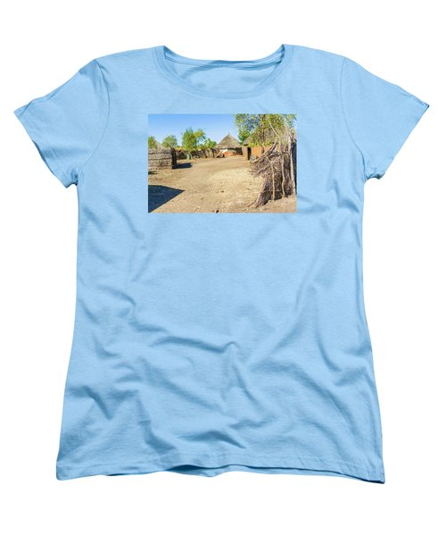 Houses In Rashid,  Sudan Women's T-Shirt (Standard Cut) by Marek Poplawski