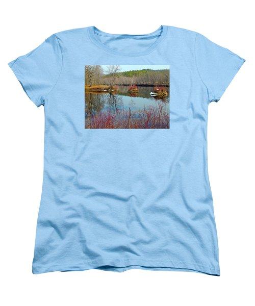 Housesitting 41 Women's T-Shirt (Standard Cut) by George Ramos
