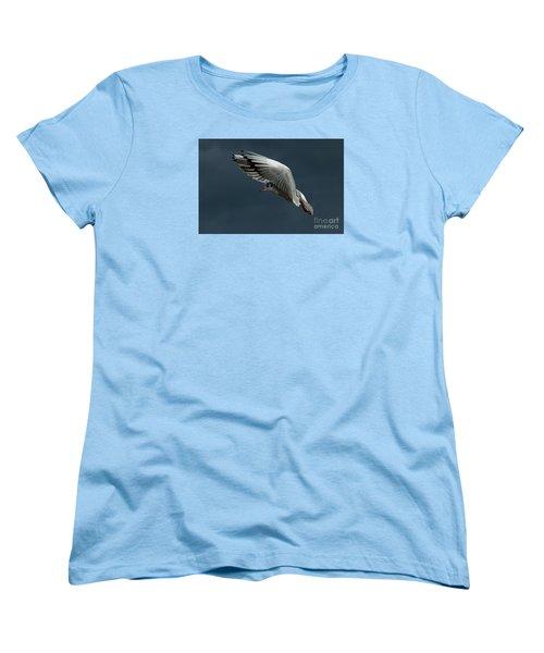 Hover  Women's T-Shirt (Standard Cut) by Gary Bridger