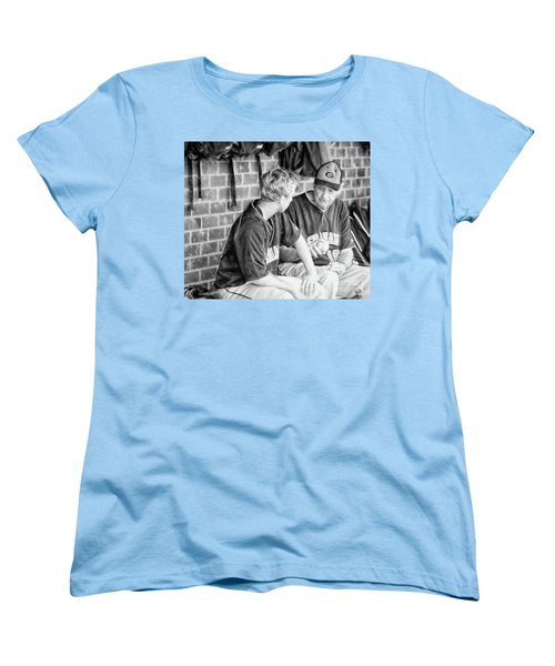 Women's T-Shirt (Standard Cut) featuring the photograph How To Throw A Curve Ball by Benanne Stiens