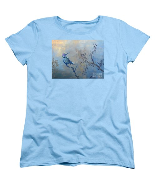 Humming Bird Women's T-Shirt (Standard Cut) by Laurianna Taylor