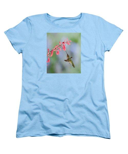 Hummingbird Women's T-Shirt (Standard Cut) by Alan Toepfer