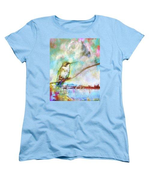 Hummingbird By The Chattanooga Riverfront Women's T-Shirt (Standard Cut) by Steven Llorca