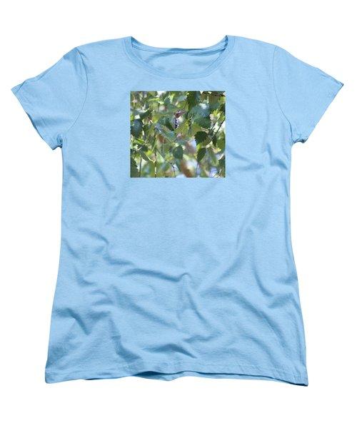 Hummingbird Women's T-Shirt (Standard Cut) by Debra     Vatalaro