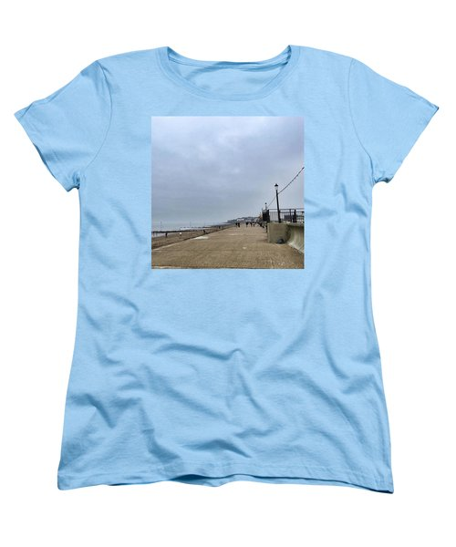 Hunstanton At 4pm Yesterday As The Women's T-Shirt (Standard Cut) by John Edwards
