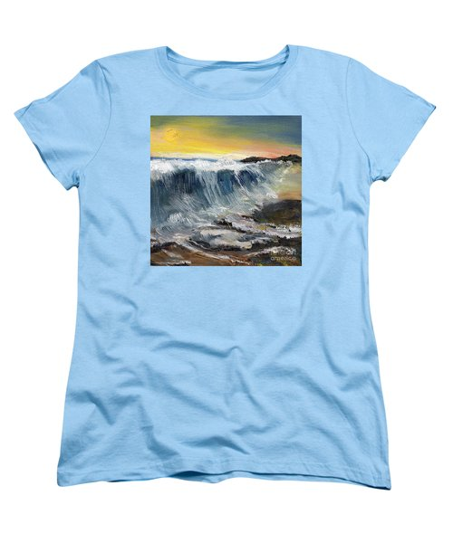 Hunter's Moon Women's T-Shirt (Standard Cut) by Randy Sprout