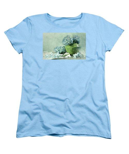 Hydra Blues Women's T-Shirt (Standard Cut) by Diana Angstadt