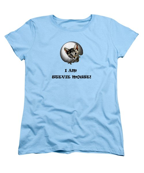 I Am Stevie Mouse Women's T-Shirt (Standard Cut) by Dorothy Berry-Lound