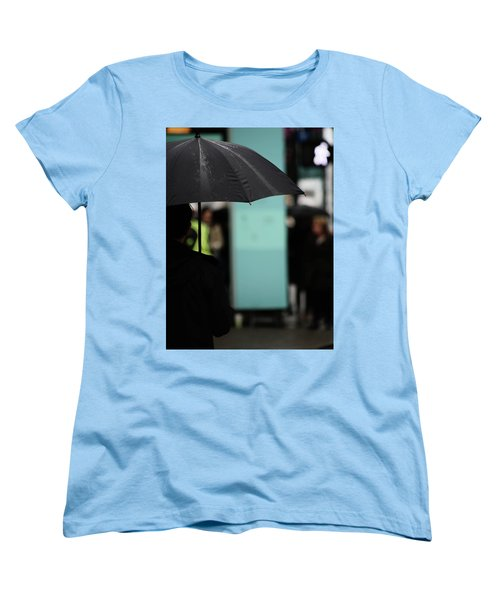 Women's T-Shirt (Standard Cut) featuring the photograph I Dont Want To Walk Away  by Empty Wall