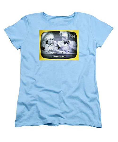 I Love Lucy Women's T-Shirt (Standard Cut) by Lanjee Chee