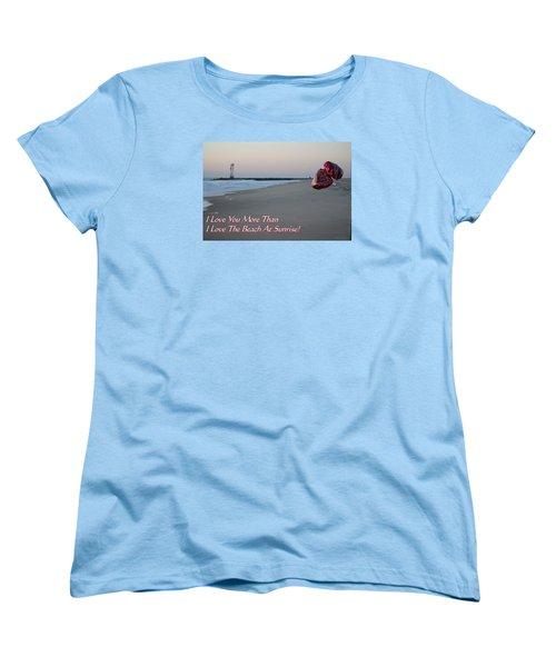 I Love You More Than... Women's T-Shirt (Standard Cut)
