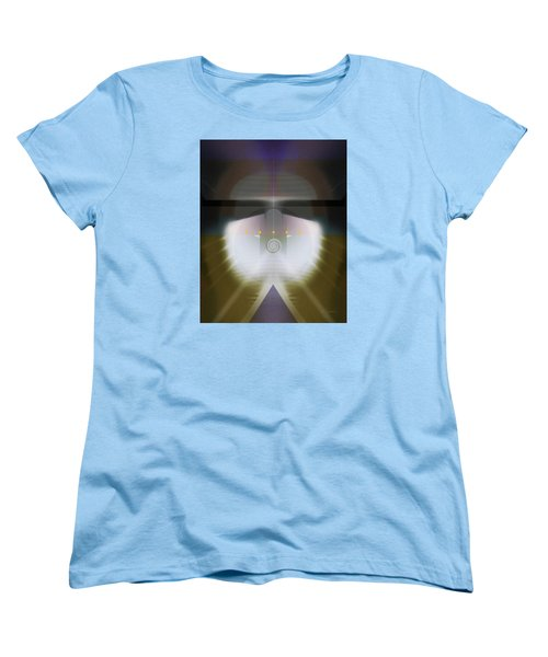 I Wish I Was A Headlight On A Northbound Train Women's T-Shirt (Standard Cut) by David Klaboe