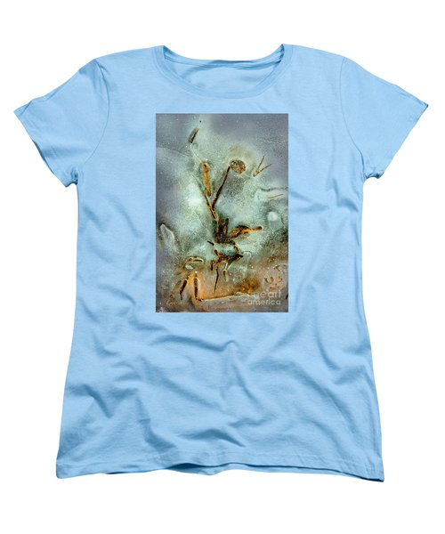Ice Abstract Women's T-Shirt (Standard Cut) by Tom Cameron