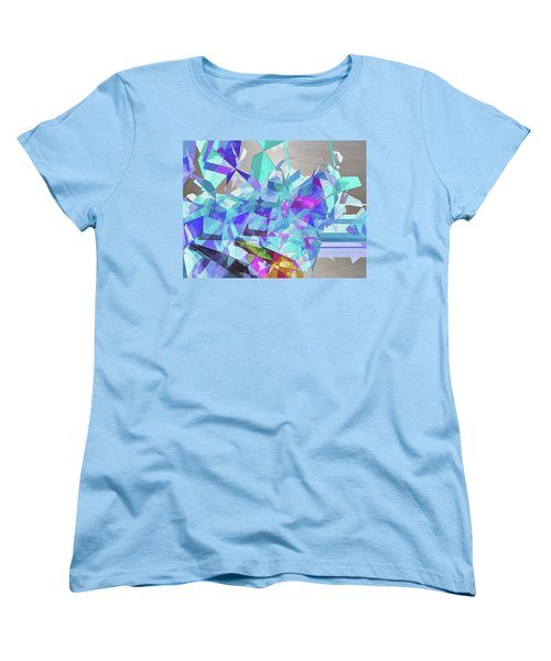 Ice Age Women's T-Shirt (Standard Cut) by Wendy J St Christopher