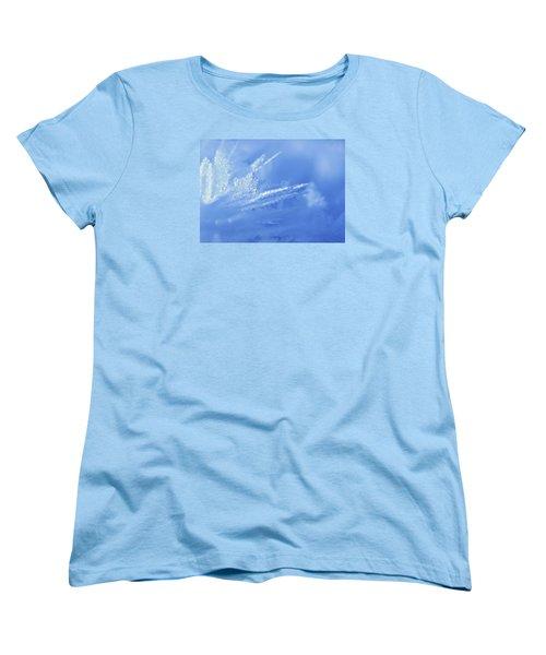 Ice Crystals 2 Women's T-Shirt (Standard Cut)