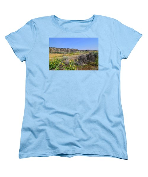 Idaho Landscape Women's T-Shirt (Standard Cut) by Bonnie Bruno