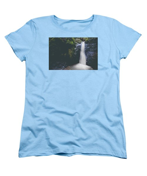 Women's T-Shirt (Standard Cut) featuring the photograph If Ever You Need Me by Laurie Search