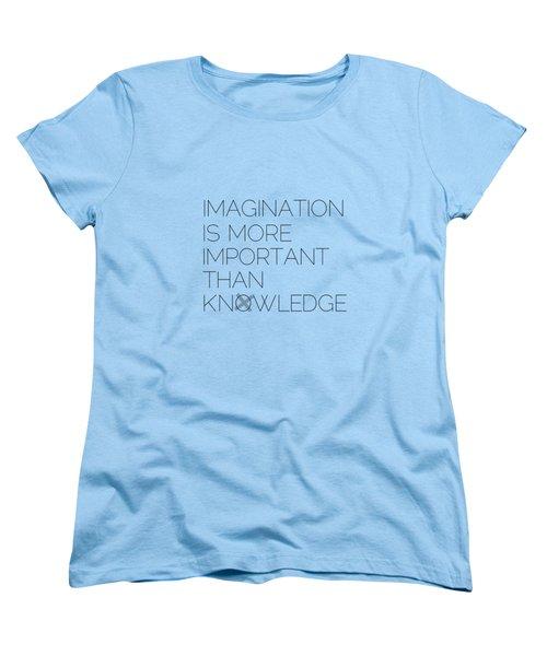 Imagination Women's T-Shirt (Standard Cut) by Melanie Viola