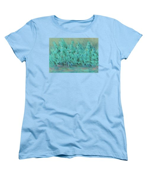 Imagine Women's T-Shirt (Standard Cut) by Lee Beuther