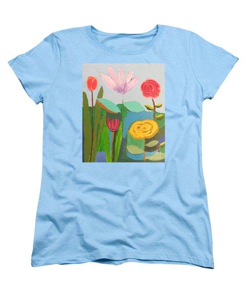 Imagined Flowers One Women's T-Shirt (Standard Cut)