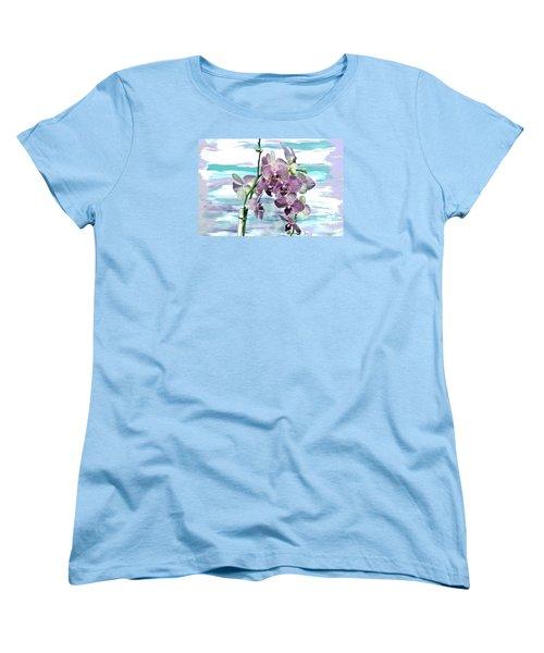 Imperial Orchids Women's T-Shirt (Standard Cut) by Marsha Heiken