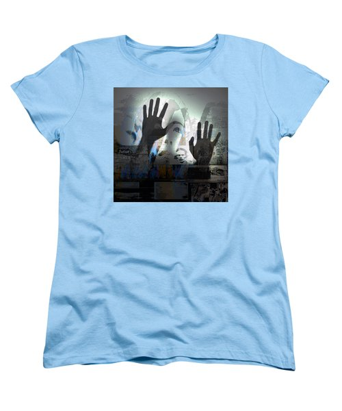 Women's T-Shirt (Standard Cut) featuring the photograph In A Vision, Or In None by Danica Radman