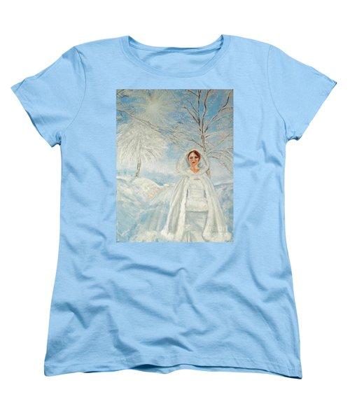 In Beauty I Walk Women's T-Shirt (Standard Cut) by Lyric Lucas