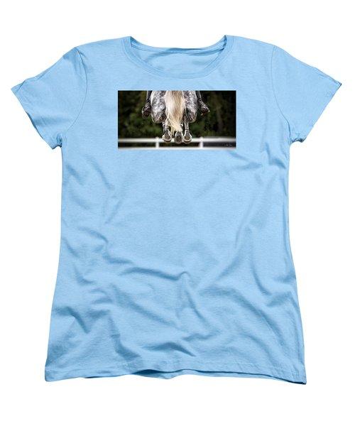 In Flight Women's T-Shirt (Standard Cut) by Joan Davis
