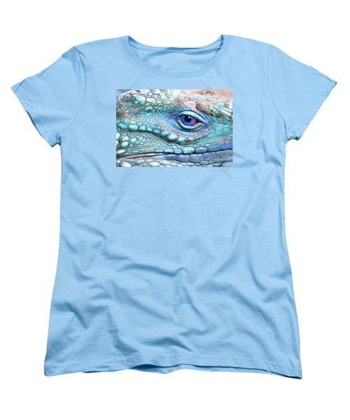 In His Eye Women's T-Shirt (Standard Cut) by Iryna Goodall