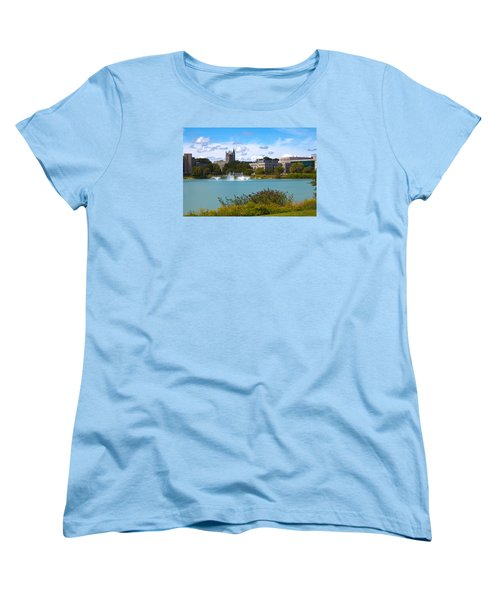 Women's T-Shirt (Standard Cut) featuring the photograph In The Afternoon by Milena Ilieva