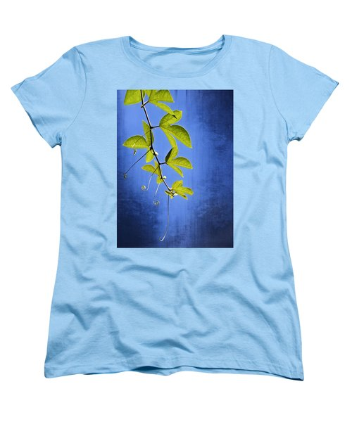 Women's T-Shirt (Standard Cut) featuring the photograph In The Blue by Carolyn Marshall