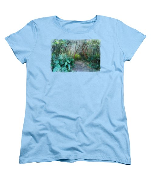 In The Bush Women's T-Shirt (Standard Cut) by Ivana Westin