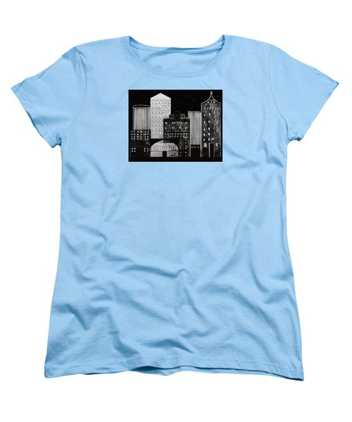 In The City Women's T-Shirt (Standard Cut) by Kathy Sheeran
