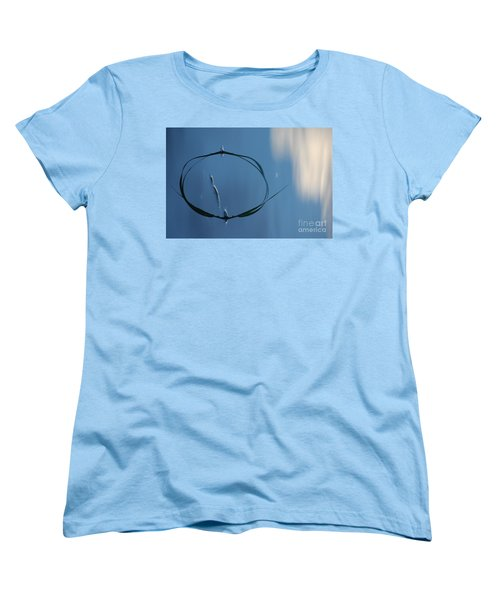 Women's T-Shirt (Standard Cut) featuring the photograph In The Cloud by Brian Boyle