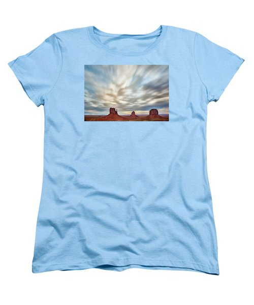 Women's T-Shirt (Standard Cut) featuring the photograph In The Clouds by Jon Glaser