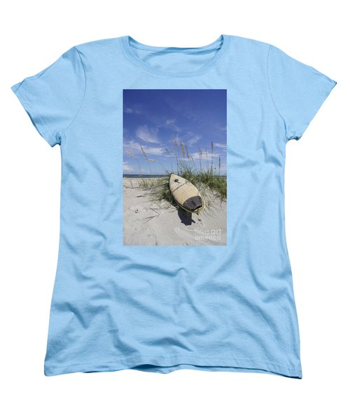In The Dunes Women's T-Shirt (Standard Cut) by Benanne Stiens
