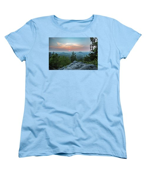 In The Land Of Mesas Women's T-Shirt (Standard Cut) by Andreas Levi
