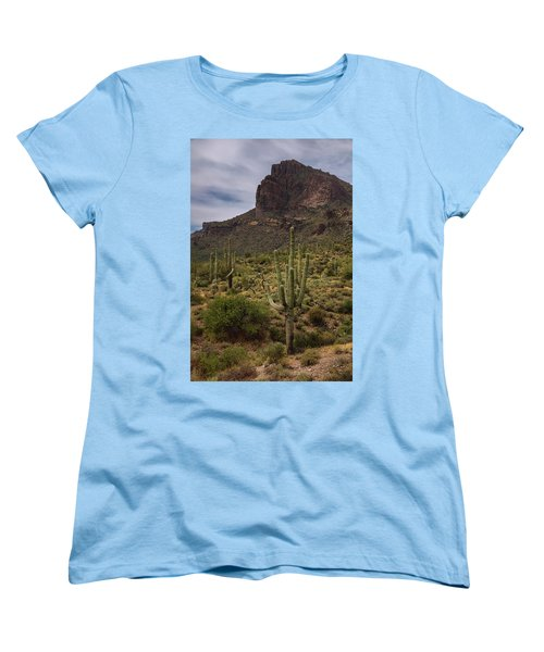 Women's T-Shirt (Standard Cut) featuring the photograph In The Presence Of The Supes  by Saija Lehtonen