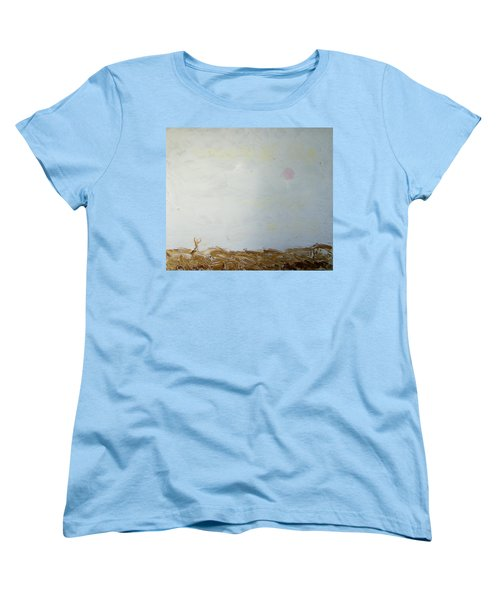Women's T-Shirt (Standard Cut) featuring the painting Incredible Lightness Of Being by Lenore Senior