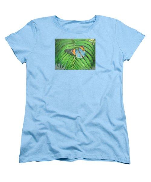 Indian Head Butterfly Women's T-Shirt (Standard Cut)