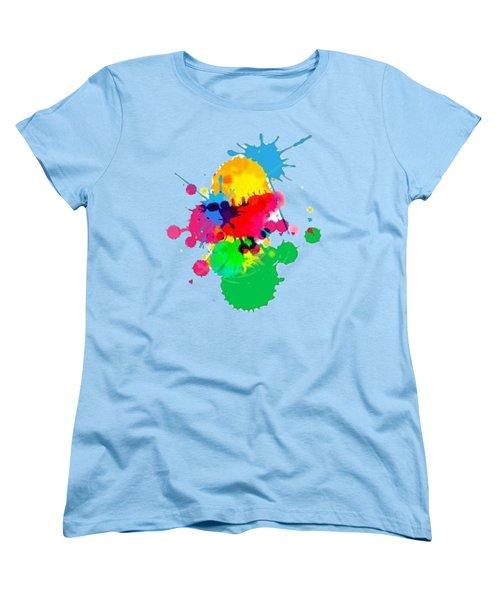 Inkblots T-shirt Women's T-Shirt (Standard Cut) by Herb Strobino