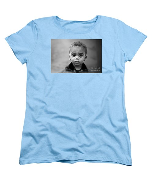Innocence Women's T-Shirt (Standard Cut) by Charuhas Images