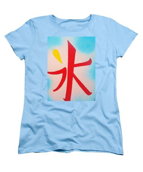 Inochi No Mizu No Himitsu Women's T-Shirt (Standard Cut) by Roberto Prusso