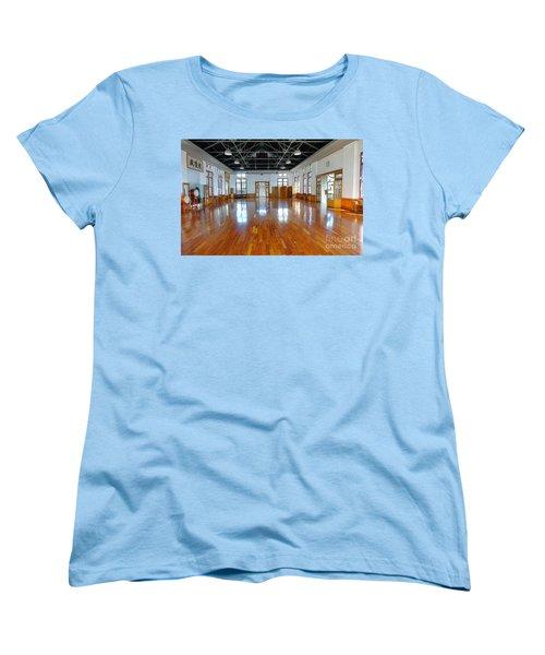 Inside The Wu De Martial Arts Hall Women's T-Shirt (Standard Cut) by Yali Shi