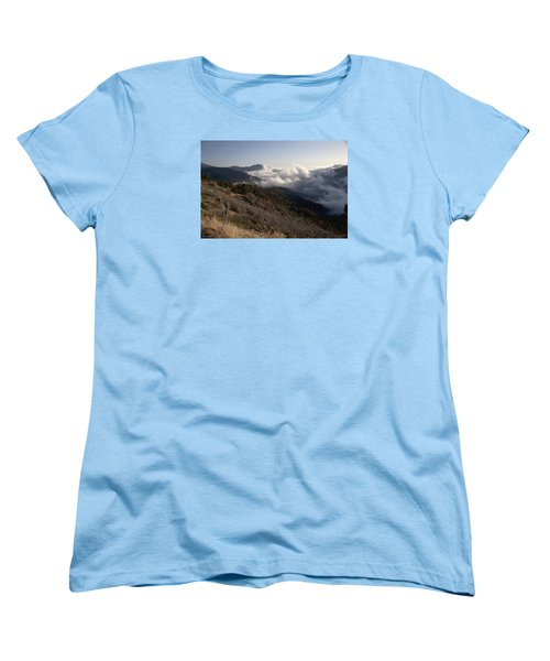 Inspiration Point View Women's T-Shirt (Standard Cut) by Ivete Basso Photography