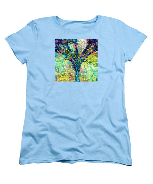 Inspirational Art - Absolute Joy - Sharon Cummings Women's T-Shirt (Standard Cut)
