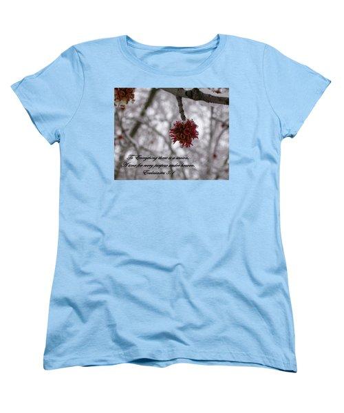 Inspirations 11 Women's T-Shirt (Standard Cut) by Sara  Raber