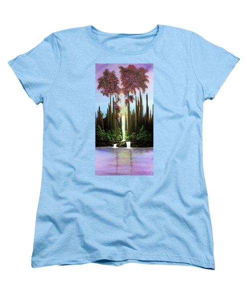 Inspireation Falls Women's T-Shirt (Standard Cut)